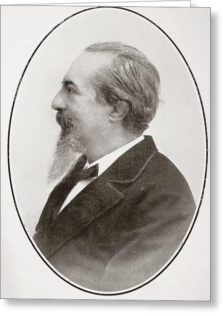 Jos  Zorrilla Y Moral, 1817 - 1893 Greeting Card by Vintage Design Pics