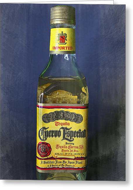 Jose Cuervo Tequila Greeting Card