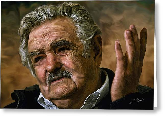Jose Mujica Greeting Card