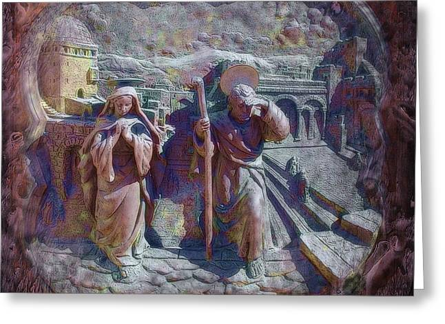Joseph And Mary1 Greeting Card