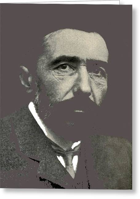 Joseph Conrad George Charles Beresford Photo 1904-2015 Greeting Card by David Lee Guss