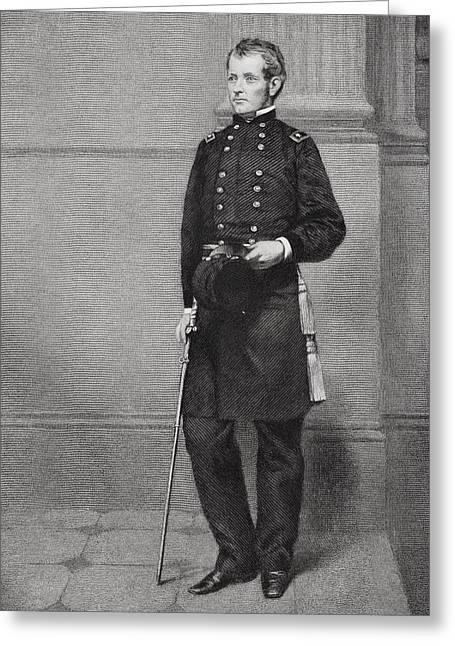 Joseph Hooker 1814 - 1879. Union Greeting Card by Vintage Design Pics
