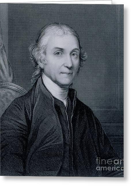 Joseph Priestley, English Chemist Greeting Card by Biophoto Associates