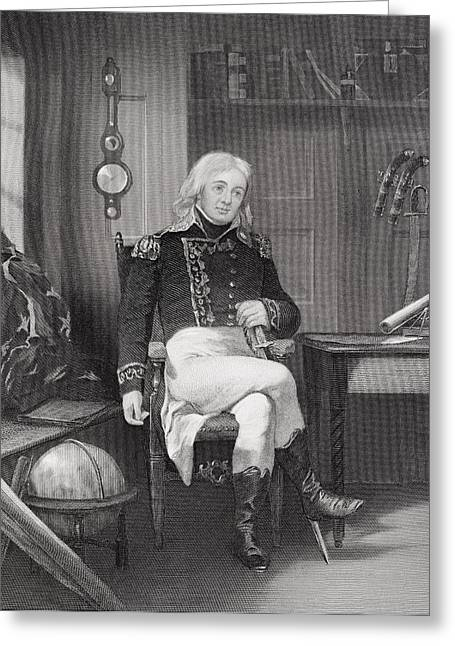 Joshua Barney 1759-1818. Distinguished Greeting Card by Vintage Design Pics