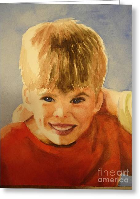 Joshua Greeting Card by Marilyn Jacobson