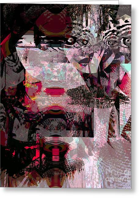 Journal Of Women's Studies Greeting Card by Fania Simon