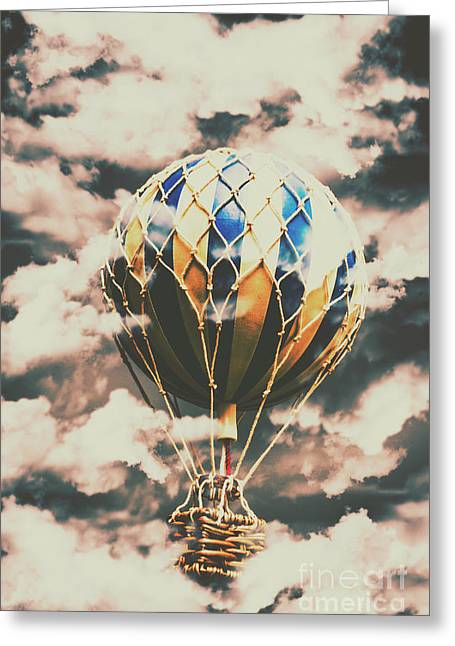 Journey Beyond Greeting Card by Jorgo Photography - Wall Art Gallery