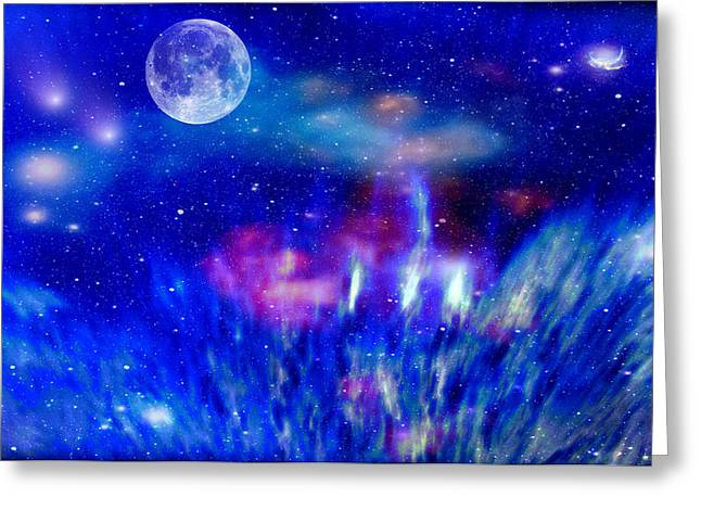 Journey Into The Universe Greeting Card