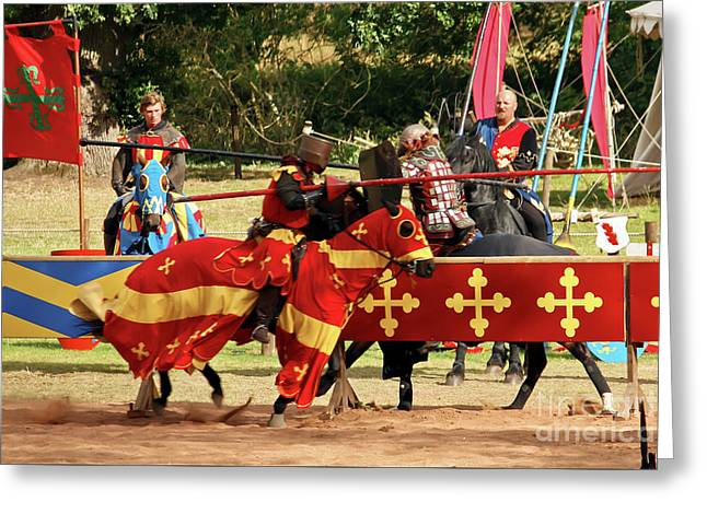 Jousting Greeting Card