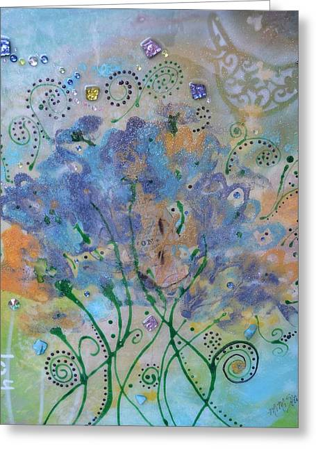 Joy By Mimi Stirn Greeting Card