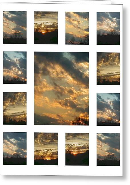 Joy In The Skies  Greeting Card
