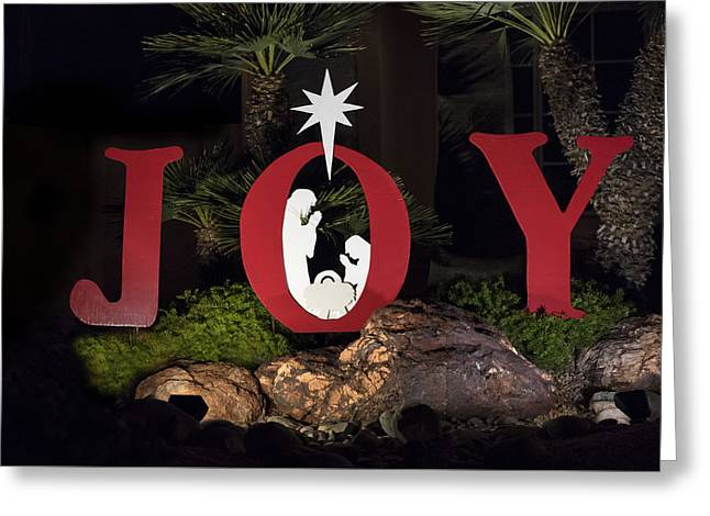 Joy Greeting Card by Jon Berghoff