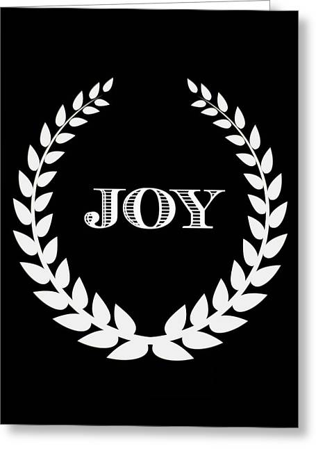 JOY Greeting Card by Kathy Bucari
