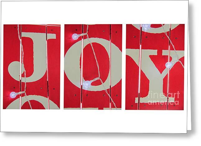 Joy Lights Up My Life Greeting Card