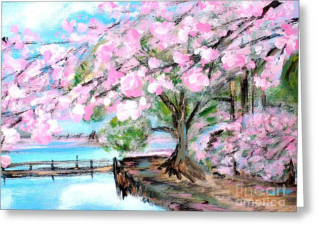 Joy Of Spring. For Sale Art Prints And Cards Greeting Card