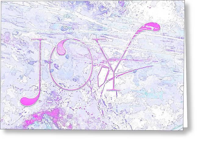 Joy River Greeting Card