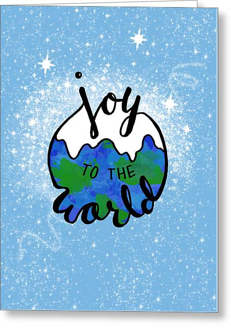 Joy To The World Greeting Card by Michelle Eshleman