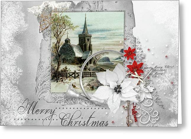 Joy To The World Greeting Card by Mo T