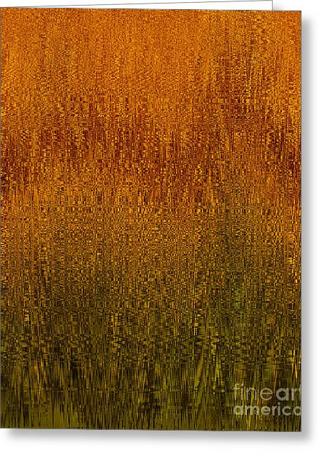 Joyful Harvest Greeting Card by Diane E Berry