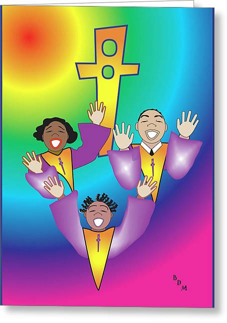 Joyful Noise Greeting Card