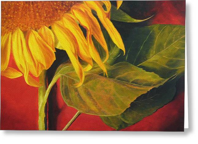 Joy's Sunflower Greeting Card