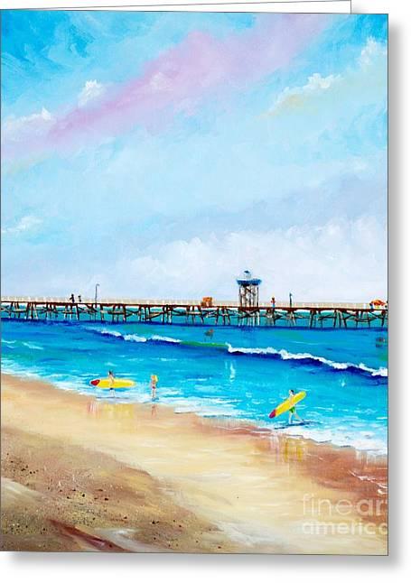 Jr. Lifeguards Greeting Card