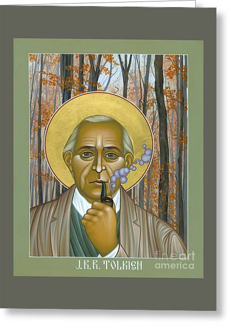 J.r.r. Tolkien - Rljrt Greeting Card