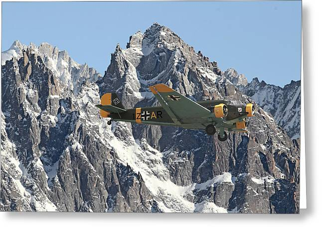 Ju52 - Lutwaffe Stalwart Greeting Card