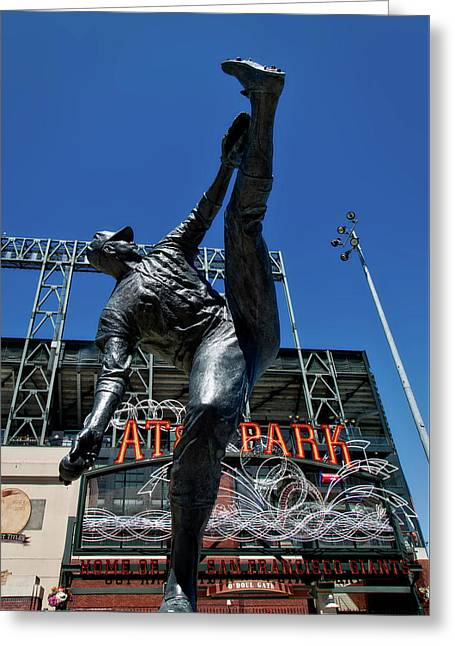 Juan Marichal Statue Greeting Card by Mountain Dreams