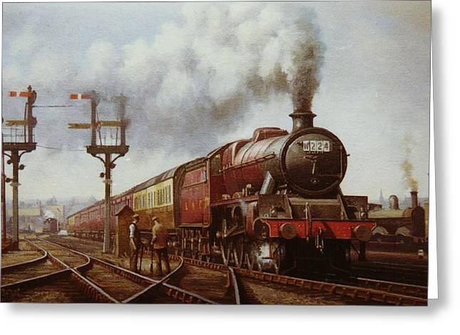 Jubilee At Edge Hill. Greeting Card