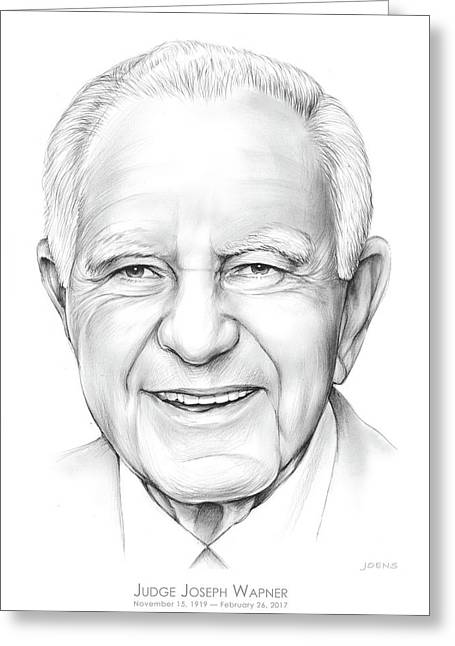 Judge Wapner Greeting Card