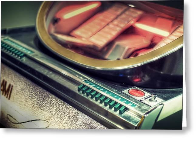 Jukebox Greeting Card by Scott Norris