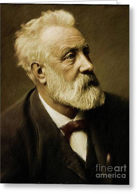 Jules Verne, Literary Legend Greeting Card