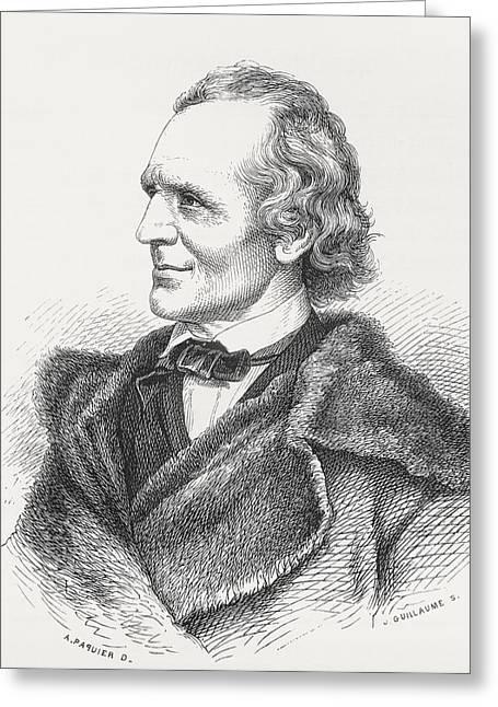 Julius Schnorr Von Carolsfeld, 1794 Greeting Card by Vintage Design Pics