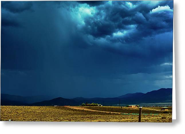 July Monsoons Greeting Card