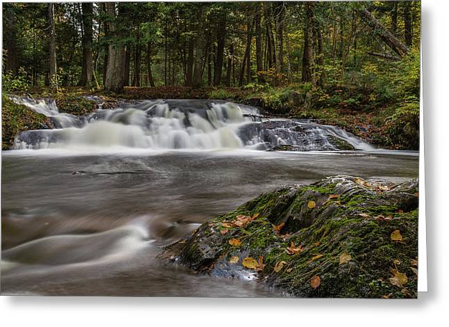 Jumbo Falls Greeting Card
