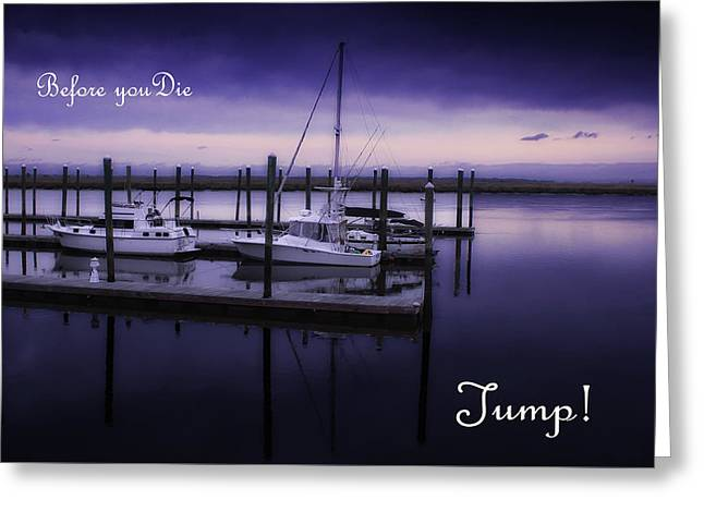 Jump Greeting Card