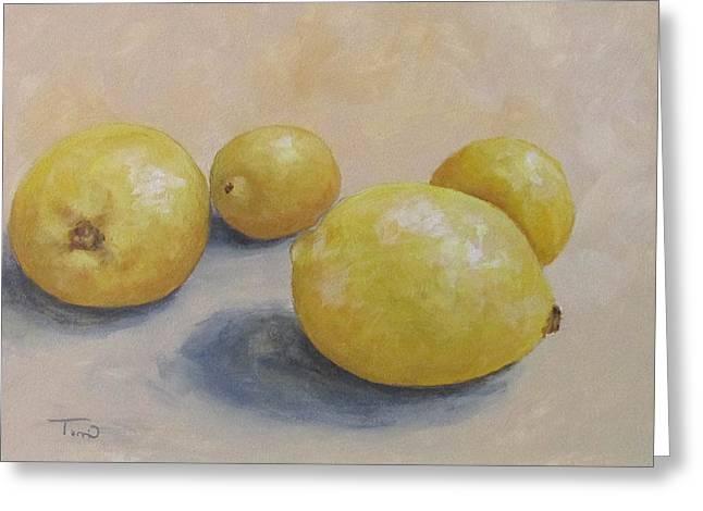June Lemons Greeting Card