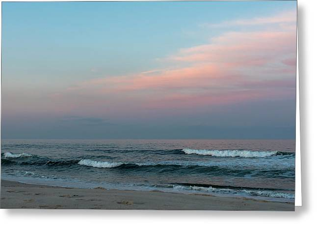 June Sky Seaside New Jersey Greeting Card