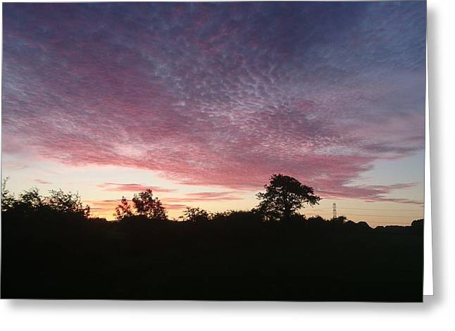 June Sunrise Greeting Card