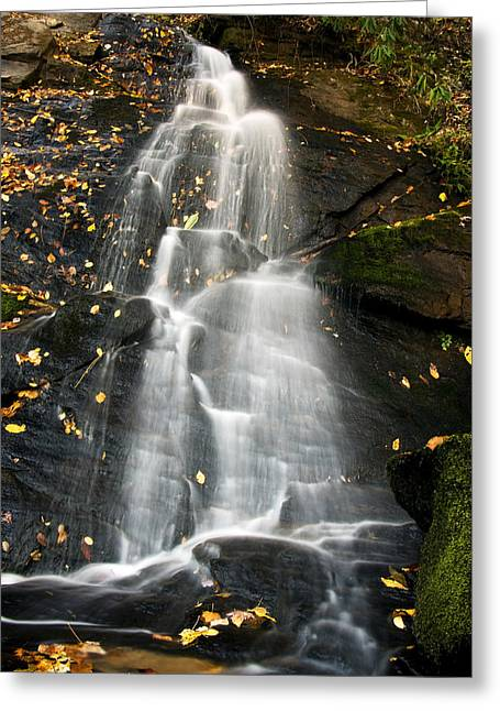 Greeting Card featuring the photograph Juney Whank Falls by Bob Decker