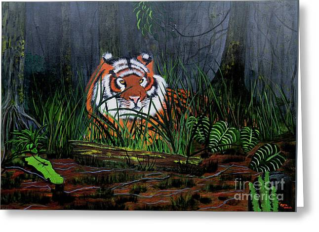 Jungle Cat Greeting Card