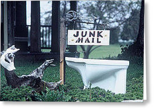 Junk Mail Greeting Card by The Signs of the Times Collection