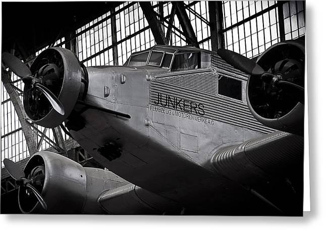 Junkers Ju-52 Greeting Card by Geoff Evans