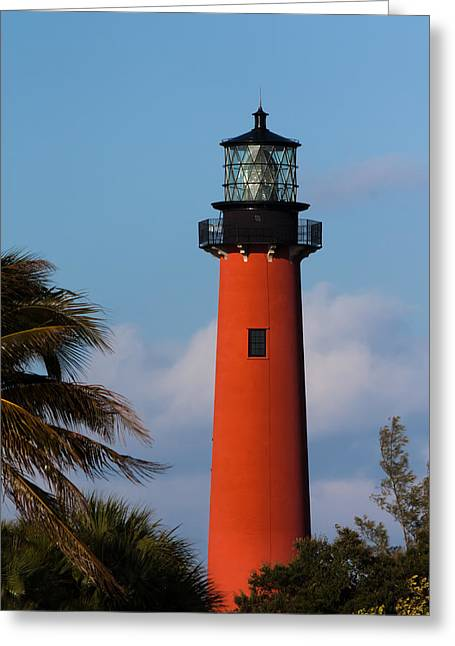 Jupiter Inlet Lighthouse Greeting Card
