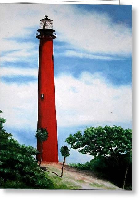 Jupiter Lighthouse No. 8 Greeting Card