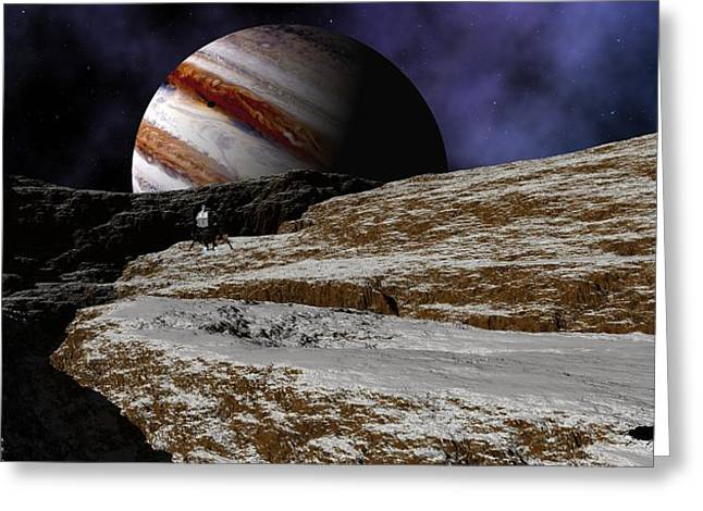 Jupiter Rise Greeting Card