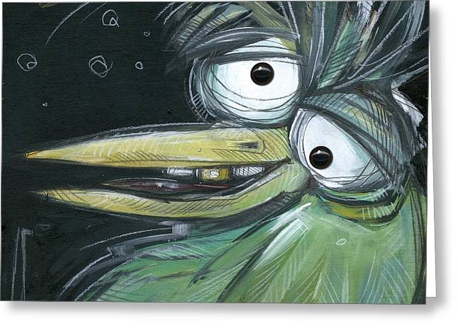 Juror Number Six With Eyes Greeting Card by Tim Nyberg
