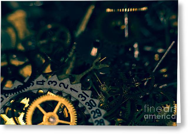 Just A Cog In The Machine 1 Greeting Card