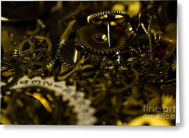 Just A Cog In The Machine 2 Greeting Card